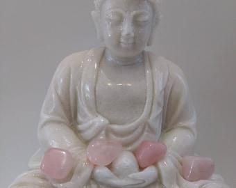 Quartz Rose 12 gr stone heart chakra, healing, meditation, stone of love