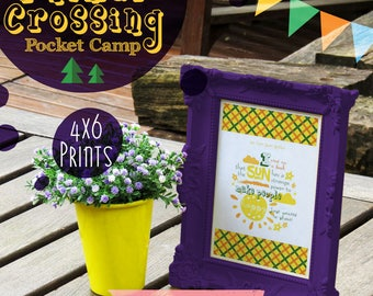 Animal Crossing Prints - Digital Instant Download AC Pocket Camp Postcards