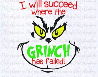 I will succeed where the Grinch has failed