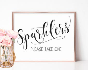 Wedding Sparklers Sign, Printable Wedding Sparkler Sign, Sparkler Send Off Sign, Wedding Send Off, Send Off Sparklers, Engagement Party Sign