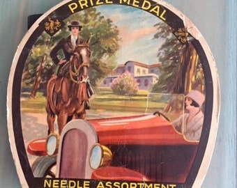 1920's made in Germany Needle Assortment-Vintage graphic