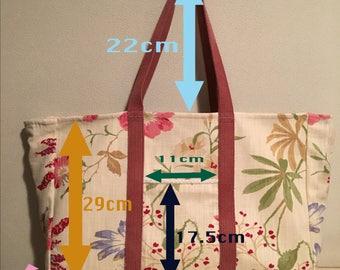 Trillions/Rumi Katsuta's Handmade Woman's Tote Bag with a Small Bag