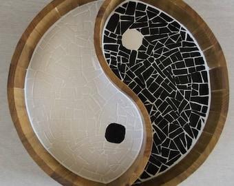 Ying Tang made mosaic tray