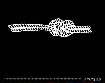 1 cut scrapbooking scrap sailor knot rope rope boat sea cut paper embellishment die cut creation