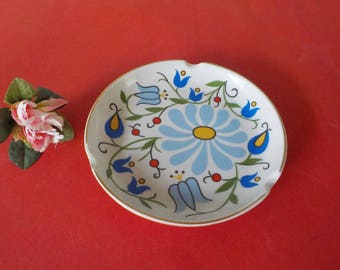 Mid century ashtray ashtray ashtray Asher porcelain of LUBIANA Poland 1970s