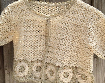 Lovely crochet Cardigan