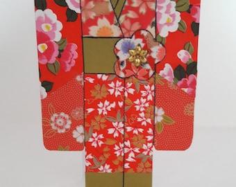 Kimono Shaped Handmade Card