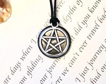 "Shungite pendant ""Star of David"", emf protection,pentacle magic pendant,reiki necklace,Magic crystal  shungite elite"
