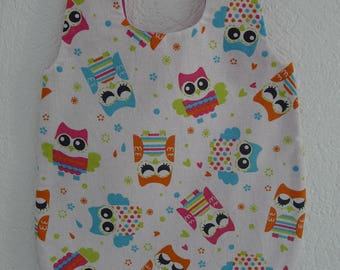Nice sleeping bag, sleeping bag, sleeping bag owls, sleeping bag for dolls, infants up to 36 cm