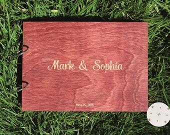 Custom guest book Wedding Guest Book Alternative guestbook Rustic Guestbook Wood Guest Book Custom Guest Book  Wedding Album Gift Ideas Idea