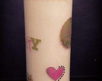 Scented Jar Candle  Love Spell (Type) Friendship Decor