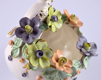 ceramic vase/ bowl/ basket