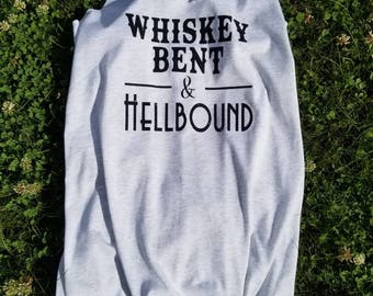 Whiskey Bent and Hellbound Tank Top