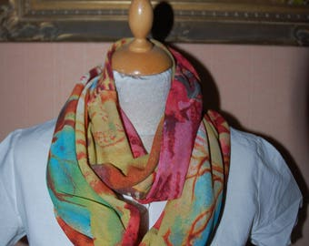 Scarf, shawl, scarf, snood,