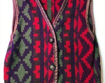 Bold Wool Vest