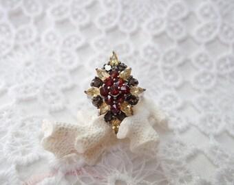 Ring in silver and semi-precious stones BOOM