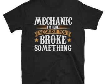 Mechanic Shirt Mechanic Gift Funny T-Shirt