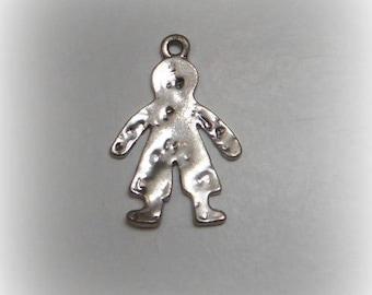 Silver charm little child