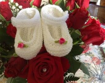 """""""Little girls"""" ballerina style slippers"""