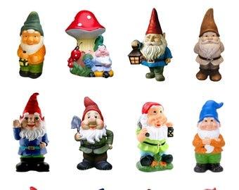 Kitsch Gnome Print A4 A3