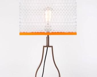 Elegant Large Lego Brick Art Lamp by WarrenBrickArt