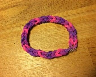 Rainbow Loom Double-Band Bracelet