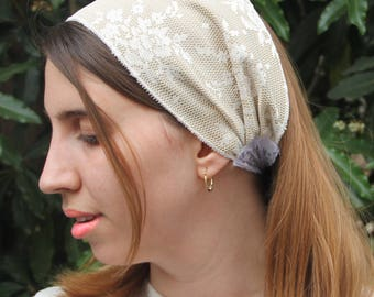 Gold Satin Headbands For Women Gold Headband Jewish Headband For Women Wide Headband For Women Jewish Hair Accessories Jewish Hair Covering