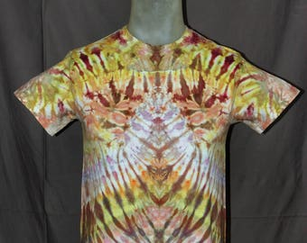 Handmade Ice Tie-Dyed T-Shirt: Small