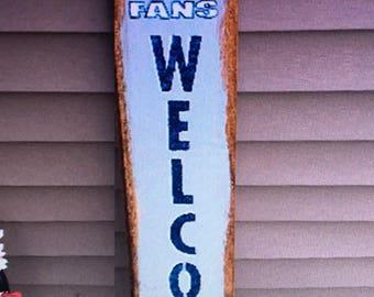 Dallas Cowboys Welcome Sign