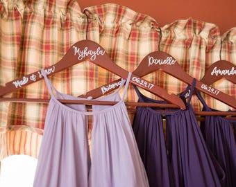 Wooden Bridal Hangers