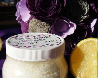Lavish Lavender Lemoncello Soak & Scrub