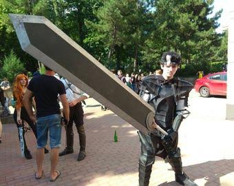 Dragonslayer, Guts, sword, Weapon, Berserk, Anime, Manga, Prop, Cosplay, Costume, Halloween, 3d printing