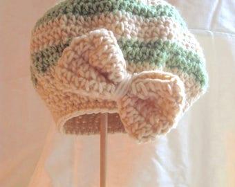 Crocheted Baby Beret