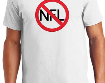 Anti NFL Mens T-Shirt I Don't Kneel FREE SHIPPING