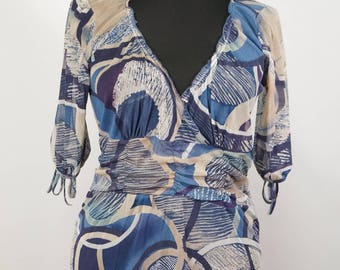 MOMENTUM Made in Paris Lady's Top Blouse Shirt Size S