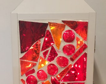 Lantern - White and Red
