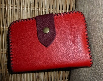 Soft and sturdy leather wallet