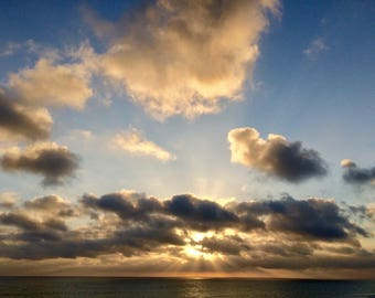 Sunset in Carlsbad, CA