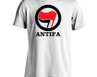 Antifa Tee T-Shirt Anti-fascism Antifascism Movement Protest