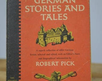 German Stories and Tales Edited By Robert Pick