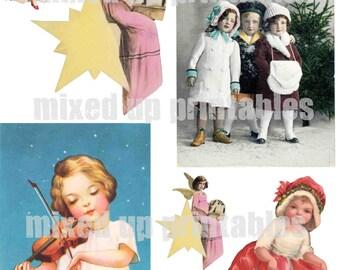 Mixed Up Printables - Retro Christmas