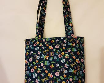 Tote Bag with Zipper