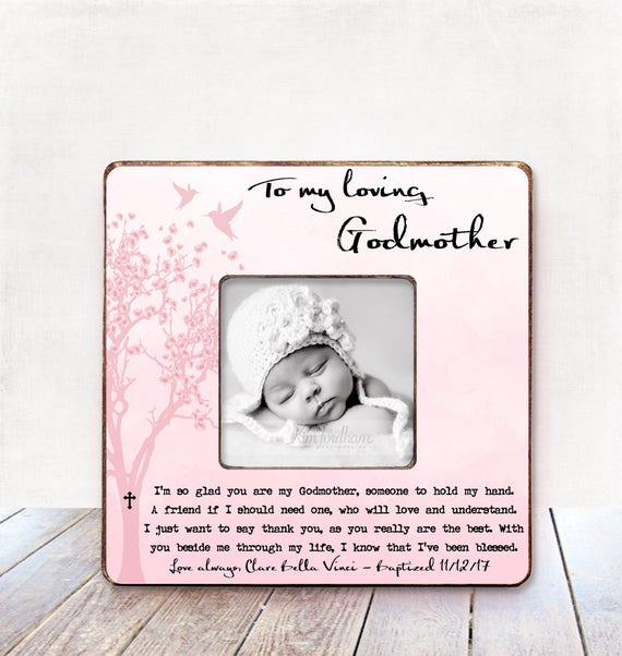 Godmother Gift Baptism Gift Godmother Christening Gift Godmother ...
