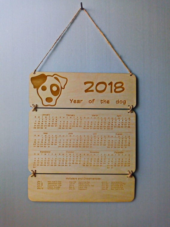 Kitchen calendars personalized wedding gifts
