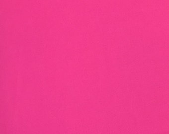 Pink Fabric, 100% Cotton, Solids Fabric, Plain Cotton, Fabric by the Yard, Quilting Fabric, Apparel Fabric