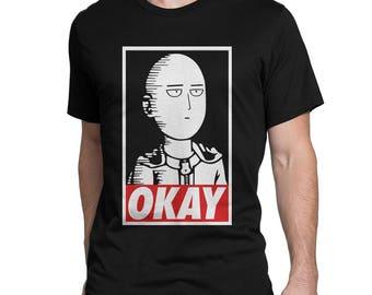 Saitama Ok... One Punch Man T-Shirt