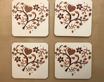Fall Coasters - Set of 4