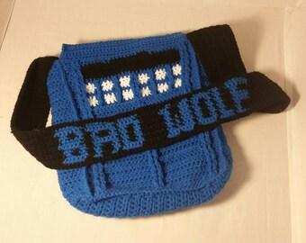 Dr.Who TARDIS purse/messenger bag