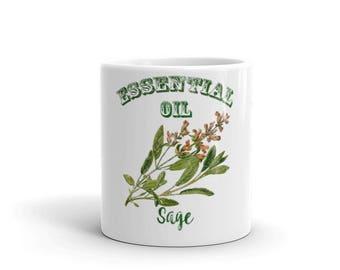Essential Oil Sage Mug