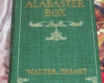 THE ALABASTER BOX Walter Besant book 1899 University Press